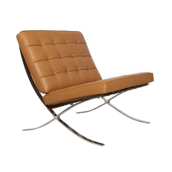 Barcelona Chair Tan