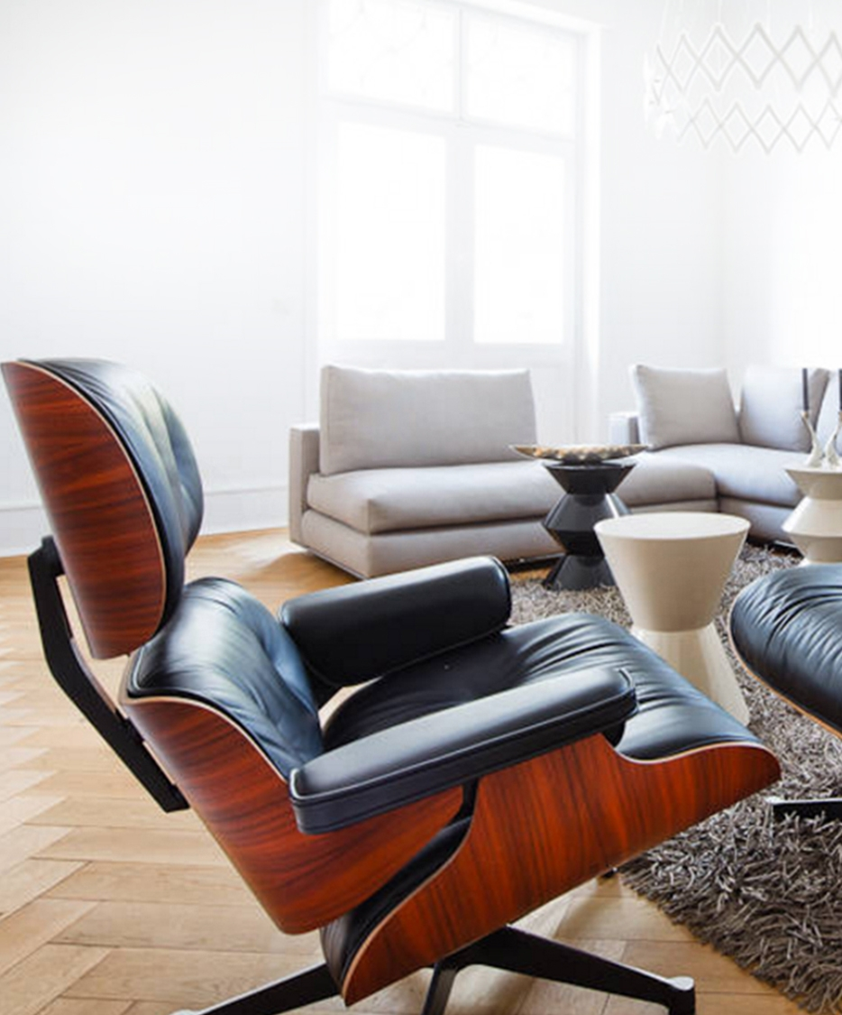 Swell The Best Pairings For The Eames Lounge Chair And Where To Gmtry Best Dining Table And Chair Ideas Images Gmtryco