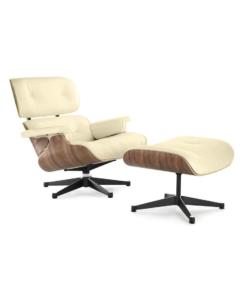 Eames Lounge Chair Cream
