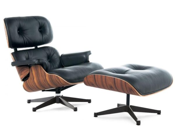 Eames lounge chair - Black Palisander wood