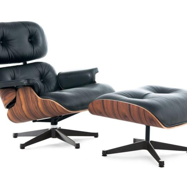 Eames lounge chair - Black Palisander wood
