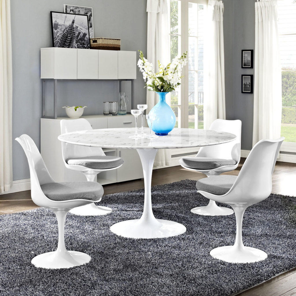 Tulip Artificial Marble Dining Table