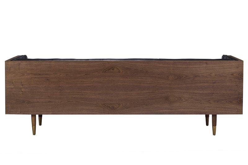 "Woodrow Box 87"" Fabric Sofa"