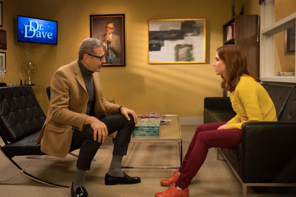Two Barcelona Chairs in the TV Show Unbreakable Kimmy Schmidt