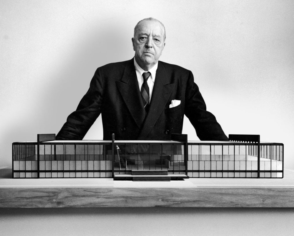 Mies Van der Rohe Designer of the Barcelona Chair