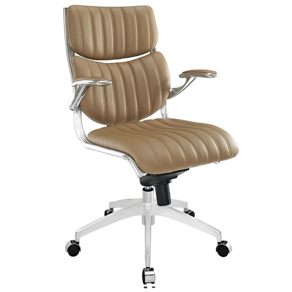 Escape Mid Back Office Chair. Mid Century Modern Furniture.