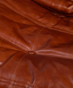Ducaroy Portside 2 Seater Sofa Leather -3dside